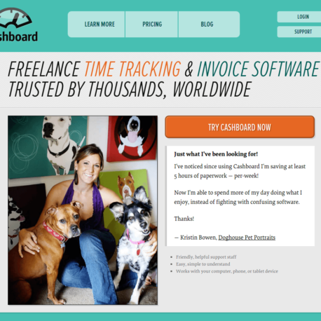 Freelance Time Tracking Software — Online