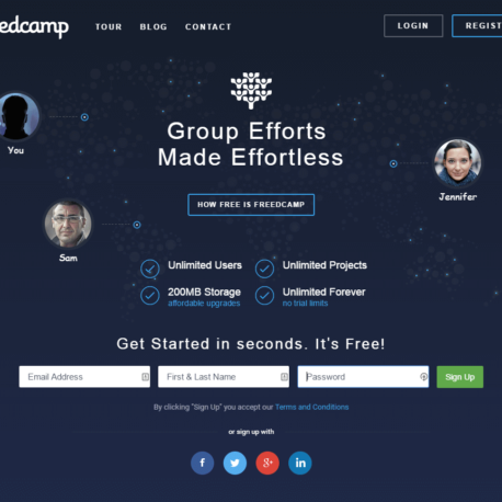 Freedcamp – Free Project Management
