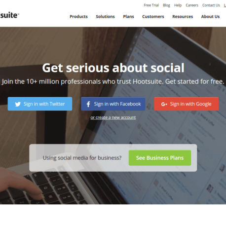 Social Media Management Dashboard – Hootsuite