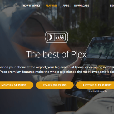 Plex Pass Lifetime Subscription On Sale
