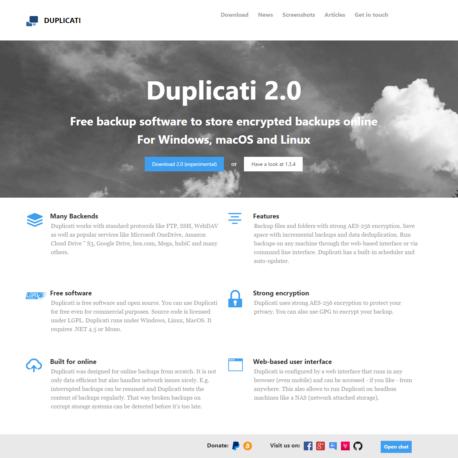 Duplicati Review
