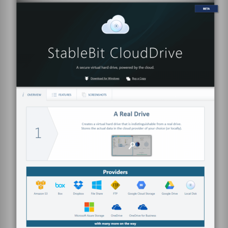StableBit – CloudDrive