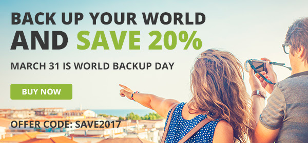 Carbonite World Backup Day Offer Code 2017