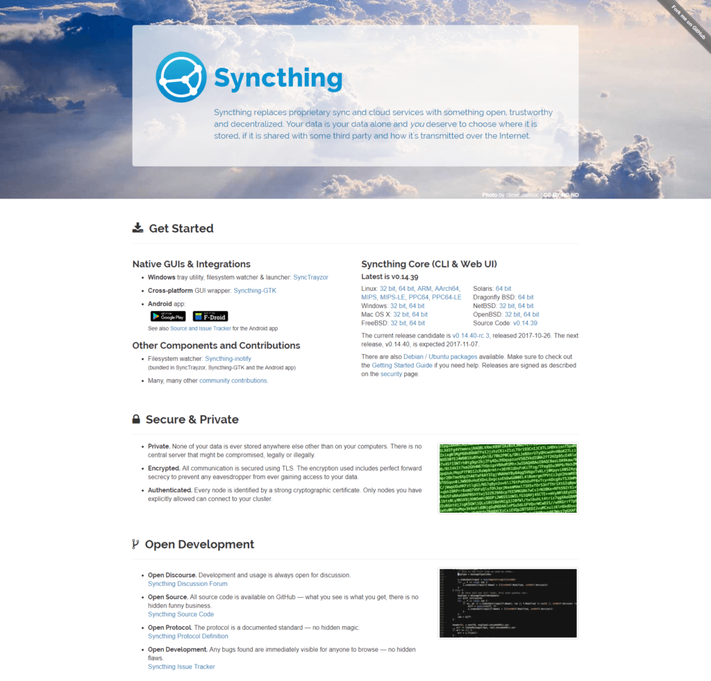 Syncthing Review - September 2019 - Cloudee Reviews