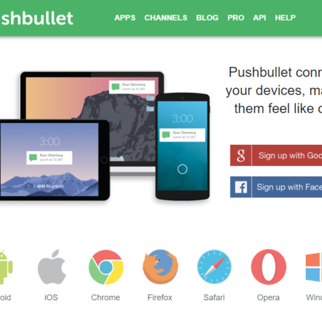 Pushbullet – Your devices working better