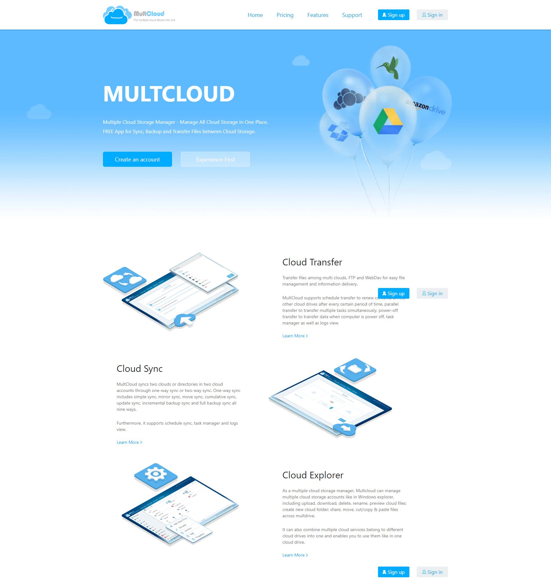 Multcloud Review - August 2019 - Cloudee Reviews