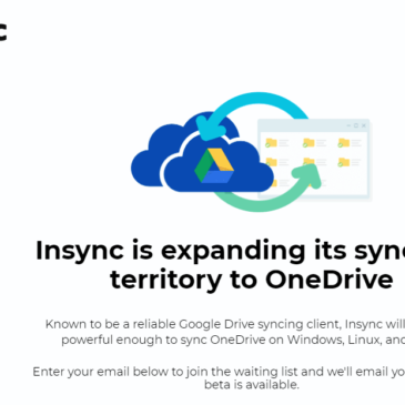 Insync for OneDrive Coming