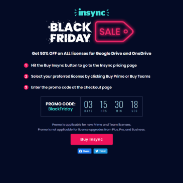 Insync Black Friday Promo Code